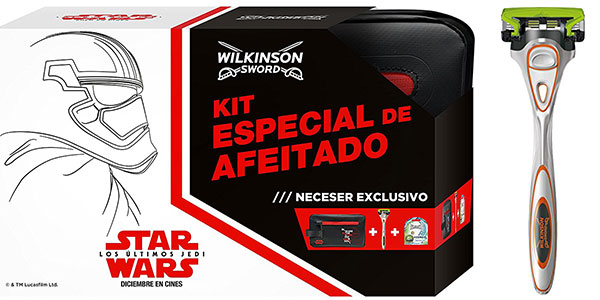 Pack Wilkinson Hydro Sensitive + neceser Star Wars barato