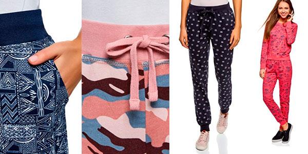 Pantalón algodón deportivo pijama de Oodji barato en Amazon