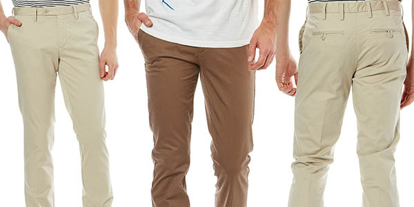 pantalón chino Celio Doger 2 para hombre a precio de chollo