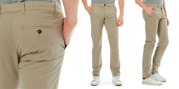 Celio Pantalones De Arenoso Color Gris Chollo Chinos Para Dotalia nfxxEa