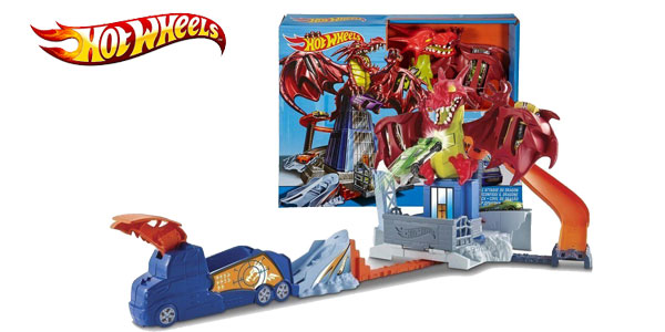 Juego creativo Dragon Attack de Hot Wheels barato en Amazon España