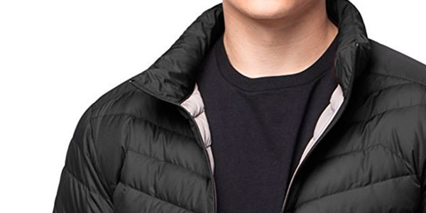 chaqueta de plumas LAPASA barata en Amazon