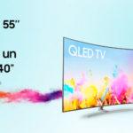Promoción comprar una Samsung QLED de 55 o más y llévate de regalo otro televisor de 40