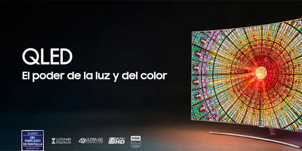 Promoción Samsung QLED con televisor de regalo