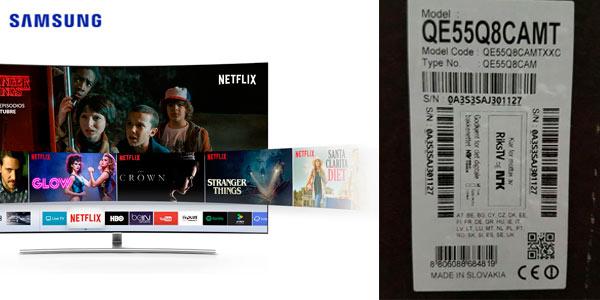 Promoción Samsung Smart TV QLED con regalo de otro televisor Samsung