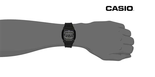 Reloj Casio Collection W-201-1AVEF para mujer chollo en Amazon Moda