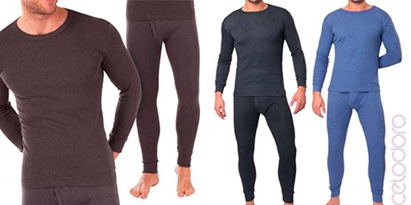 Set de ropa térmica MT Thermo Light para hombre barato en Amazon