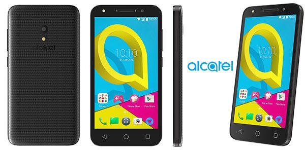 Smartphone Alcatel U5 de 5 pulgadas, 8MPX , 1GB de RAM y 8GB de ROM rebajado
