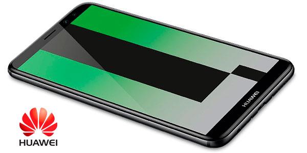 Smartphone Huawei Mate 10 Lite de color negro con 4 GB de RAM y 64 GB de ROM en oferta