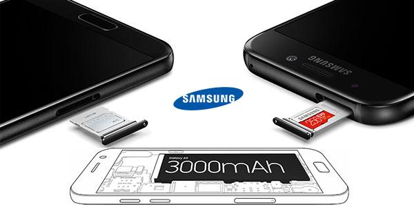 Samsung Galaxy A5 (2017) con 3 GB de RAM y 16 mpx
