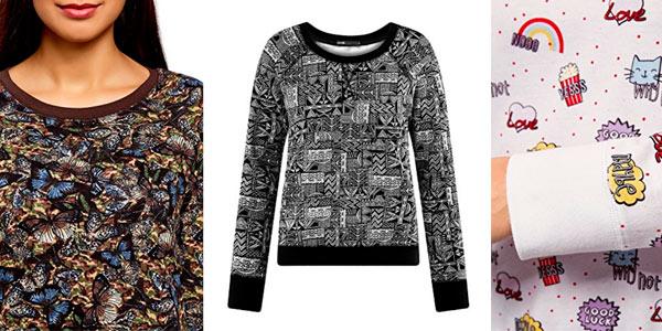 Suéters de algodón baratos en Amazon estilo pijama