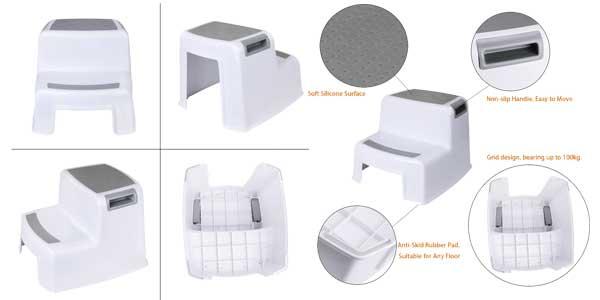 Taburete antideslizante WC para niños Cusfull chollazo en Amazon