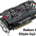 Tarjeta gráfica Radeon Asus Strix RX560-O4G 4GB GDDR5