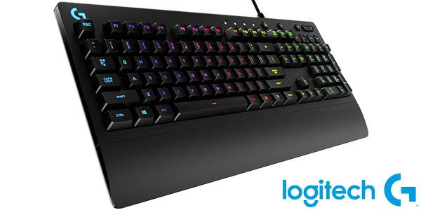 Teclado gaming Logitech G213 con retroiluminación RGB