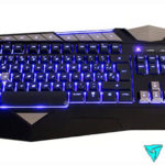 Teclado gaming ThunderX3 TK25 de membrana LED anti-ghosting