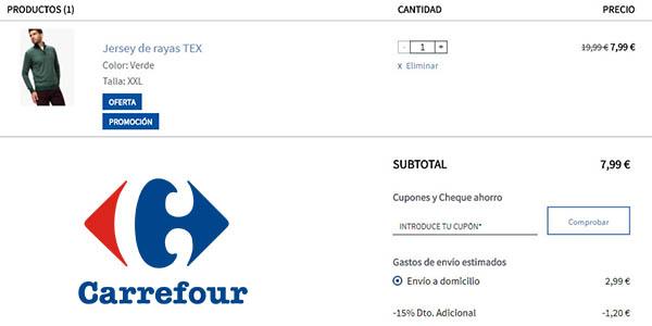 Terceras Rebajas Carrefour Moda con ropa para hombre mujer y niñ@s