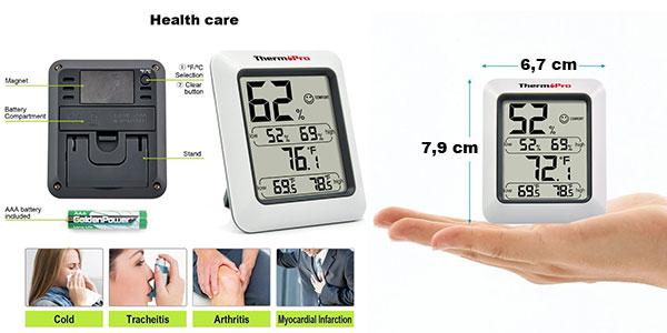 Termómetro higrómetro ThermoPro rebajado
