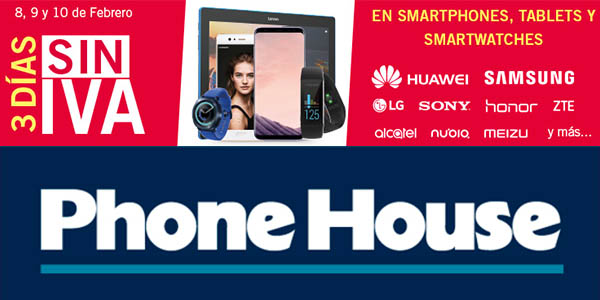 The Phone House Días sin IVA febrero 2018