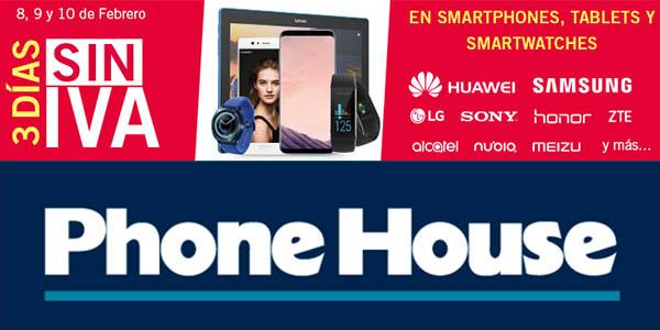 The Phone House Días sin IVA febrero 2018