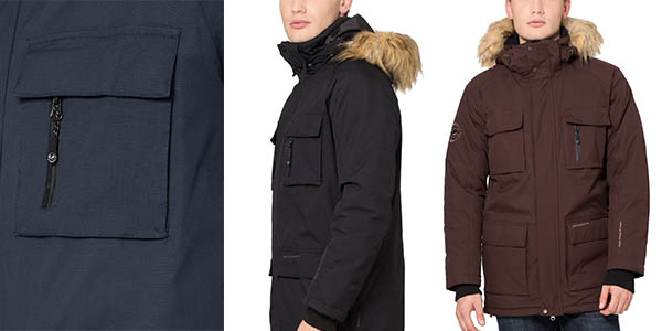 Ultrasport Luca parka impermeable de abrigo chollo