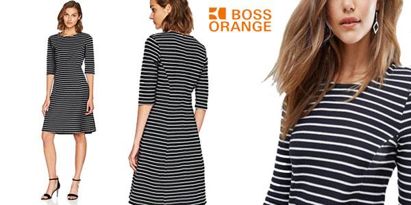 Vestido Boss Orange by Hugo Boss en color azul para mujer barato en Amazon Moda