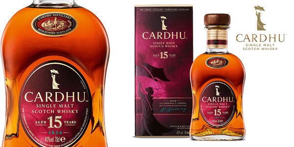 Whisky escocés Cardhu 15 Años de 700 ml barato en Amazon