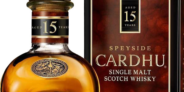 Whisky escocés Cardhu 15 Años de 700 ml chollo en Amazon
