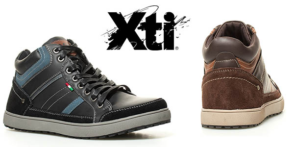 Xti Adrian zapatillas para hombre chollo