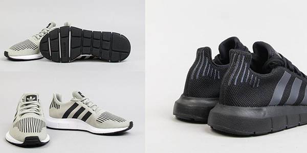 zapatillas Adidas Swift Run Sesamo en malla transpirable oferta