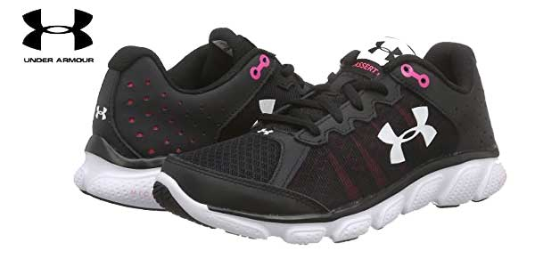 Zapatillas de running Under Armour UA W Micro G Assert 6 para mujer baratas en Amazon