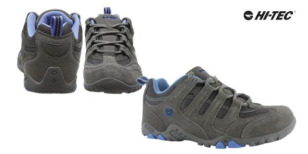 Zapatillas de senderismo Hi-Tec Quadra Classic para mujer en color gris chollazo en Amazon