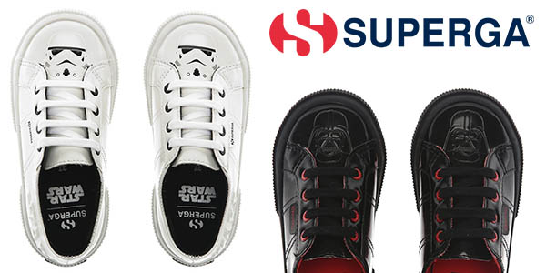 zapatillas Superga Star Wars infantiles chollo