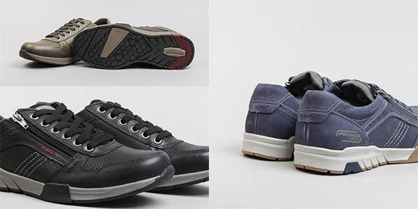 zapatos casuales Pegada con cordones y cremallera transpirables y baratos