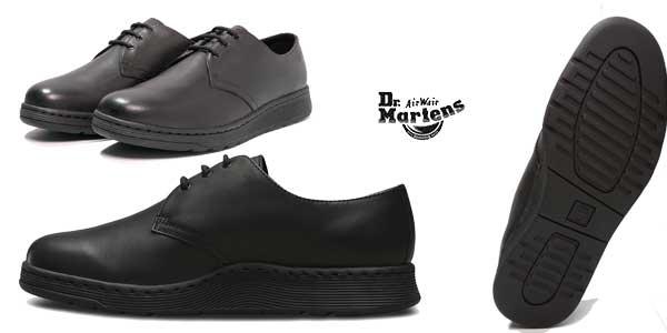 Zapatos de cuero Dr Martens Cavendish en color negro para mujer chollo en eBay España