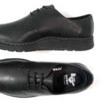 Zapatos de cuero Dr Martens Cavendish en color negro para mujer baratos en eBay España