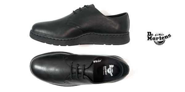 Dr Cavendish Zapatos Negro Color En Martens De Cuero Para Chollazo AxtBqXq