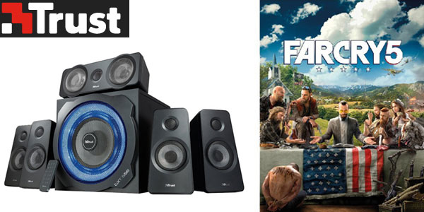 Altavoces 5.1 Trust GXT 658 con regalo Far Cry 5 en Amazon