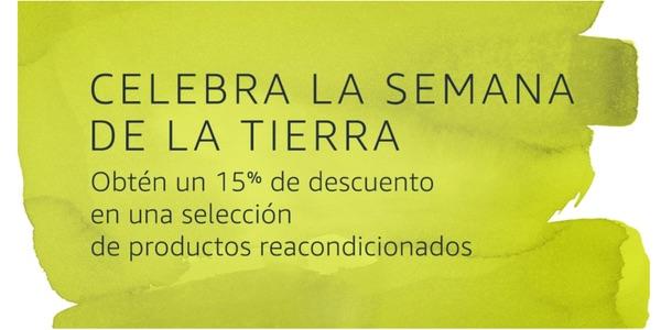 Amazon Descuento Extra productos reacondicionados