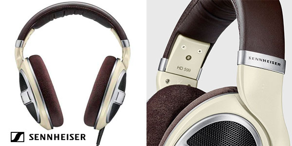 Auriculares de diadema Sennheiser HD 599 con tecnología de transductores en oferta