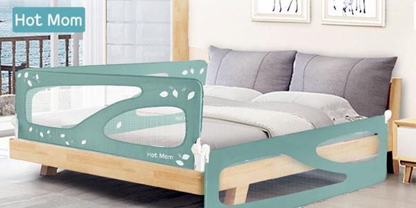 Chollo Barandillas de seguridad para niños Hot Mom para camas de 150 ...