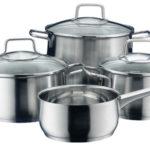 Batería de cocina WMF Brillant 4 piezas para todo tipo de cocinas barata en eBay