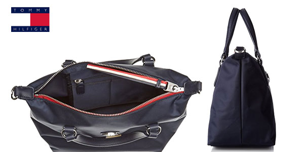 Bolso Tommy Hilfiger Poppy Small en color azul marino chollazo en Amazon