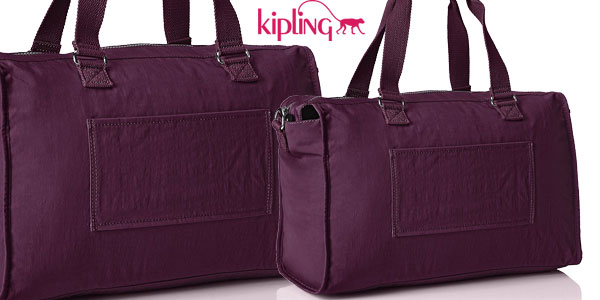 Bolso de viaje Kipling Pauline Plum Purple chollo en Amazon