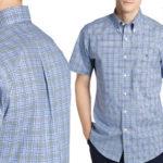 Camisa LAUREN RALPH LAUREN de cuadros en color azul para hombre barata en Primeriti