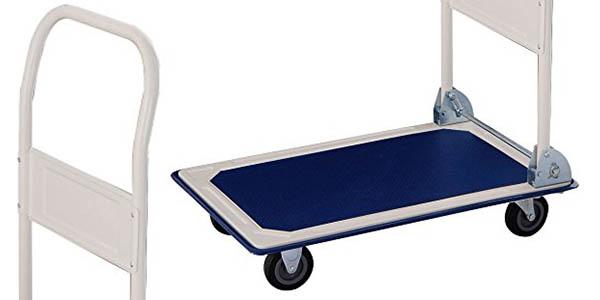 carretilla de transporte plegable y resistente RDM Quallity Tools en oferta