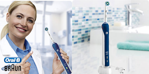 Braun Oral-B PRO 2 2000N CrossAction - Cepillo de dientes eléctrico  recargable chollazo en 95d845b5259c