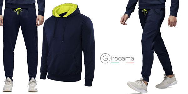 Chándal Deportivo GIROGAMA en varios colores para hombre chollazo en eBay  España 5930f206b184