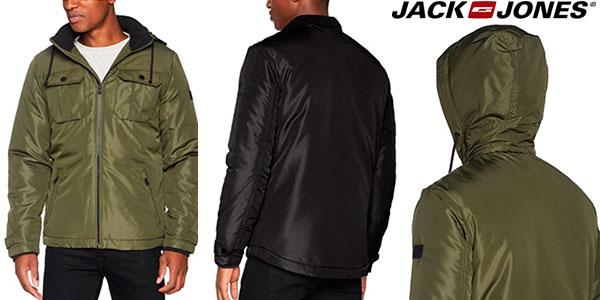 Chaqueta Jack & Jones Jcoflicker con capucha para hombre barata