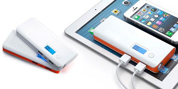 Chollo Batería externa de 20000 mAh con doble USB