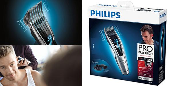 Chollo cortapelos Philips HC9490/15 con cuchillas de titanio y 3 peines guía